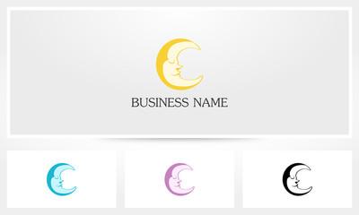 Crescent Sleeping Moon Logo