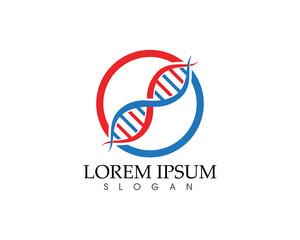 DNA Health success care logo and symbols template