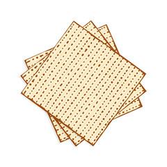 Passover matzah, unleavened bread