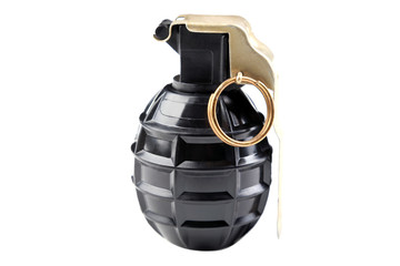 Hand grenade M75 isolated on white background