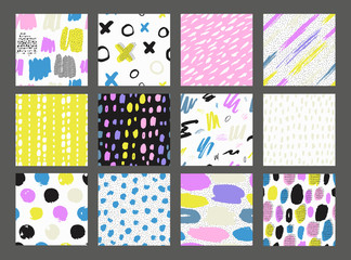 Printed roller blinds Pattern Collections of colorful seamless pattern.