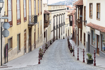 La Orotava Street, Tenerife, Spain