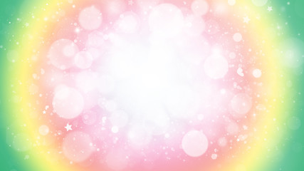 Colorful glitter sparkles rays lights bokeh Festive Elegant abstract background.