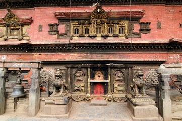Bhaktapur city in Nepal