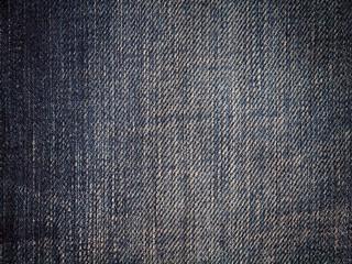 Blue denim textile texture.