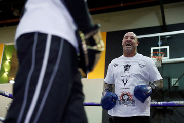 Dillian Whyte & Lucas Browne Media Work-Outs