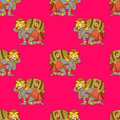aztec pattern.