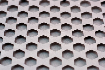 texture of honeycomb from different materials