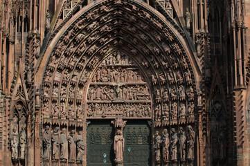 Figurenschmuck am Straßburger Münster