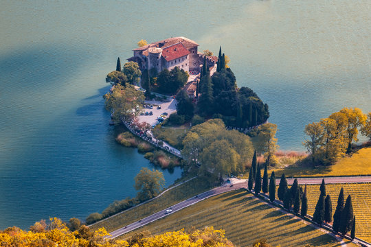Lago di Toblino in Trentino
