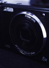 camara y objetivo fotográficos