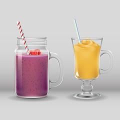 smoothie cocktail drink fresh summer bar glass