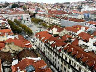 Top view of Lisbon.Portugal