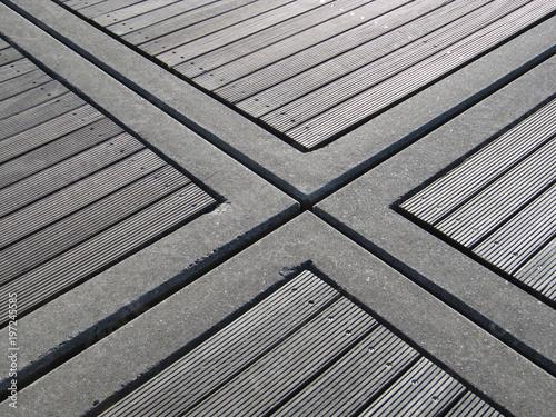 Bodenbelag Holz Und Beton Stock Photo And Royalty Free Images On
