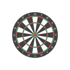 Board Target. Vector
