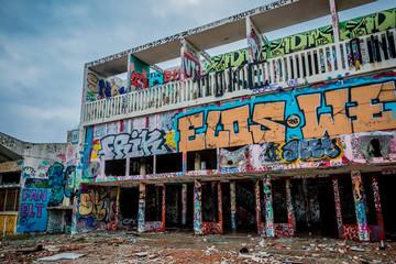 Bâtiments abandonnés Urbex