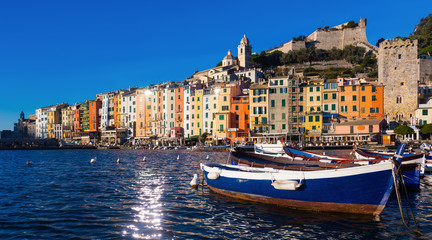 Portovenere La Spezia  apartments and boats from sea view