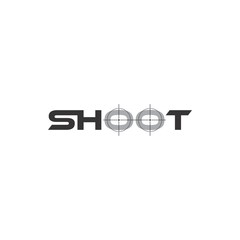 SHOOT text logo