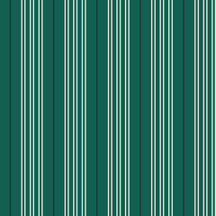 Seamless vector vertical modern stripe pattern in white and black with a green background. Repeat design element for prints, wrap, textile, fabric, decor.