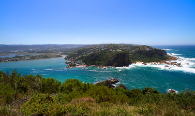 Featherbed view, Knysna, South Africa, Featherbed Nature Reserve.