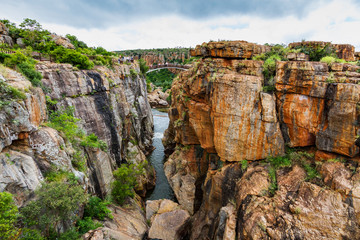 Bourkes Luck Potholes, amazing canyon scenery, South Africa