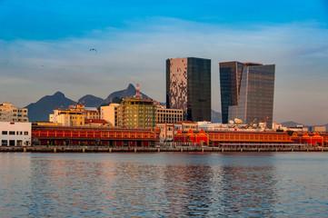 View of Rio de Janeiro Port Area