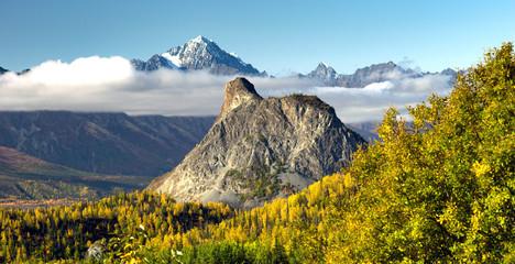 Wall Mural - Chugach Mountains Matanuska River Valley Alaska United States
