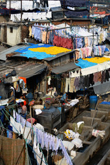 Public Laundry - India, Dobi Ghat