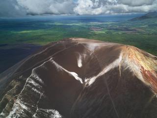 Volcanoboarding in Nicaragua