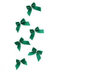 St Patricks Day  green bows