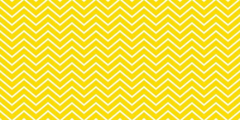 Summer background chevron stripe pattern seamless yellow and white.