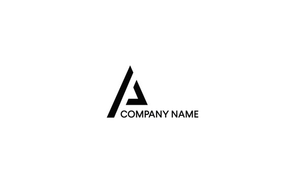 Letter A and P logo design