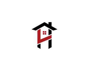 Real Estate and LH HL Letter Logo Icon 1