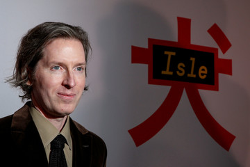 Director Wes Anderson arrives for a screening of 'Isle of Dogs' in New York