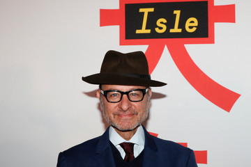 Cast member Fisher Stevens arrives for a screening of 'Isle of Dogs' in New York