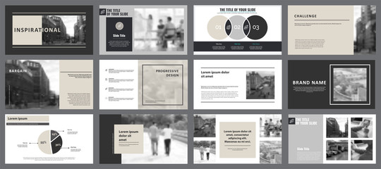 Twelve Planning Slide Templates Set