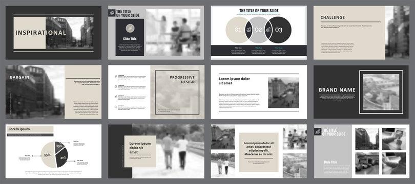 Twelve Planning Slide Templates Set