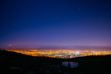 san jose nightscape