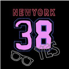 typography new york t shirt vector design