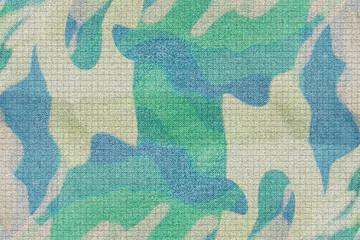 abstract blue and green  Camouflage  background