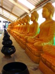 Les' temples'et Buddha