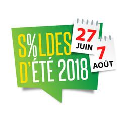 Soldes d'été 2018 / 27 juin - 7 août