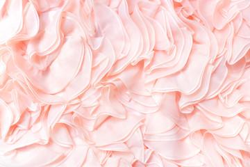 Luxury bridal gown wedding dress background texture.