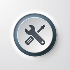 icône outils / réglages