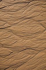 Texture de sable avec des formes abstraites