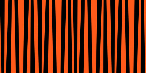 Orange and black striped halloween print