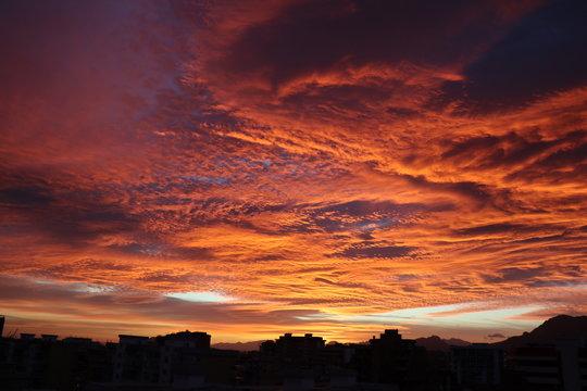 Alba Spettacolare, Nuvole fantastiche