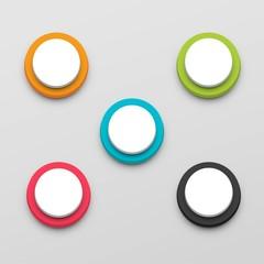 Button set color