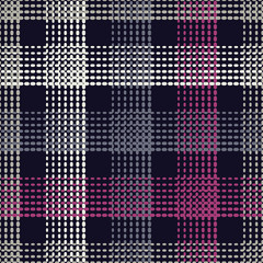 Seamless geometric pattern. The texture of the strips at points. Scribble texture. Textile rapport.