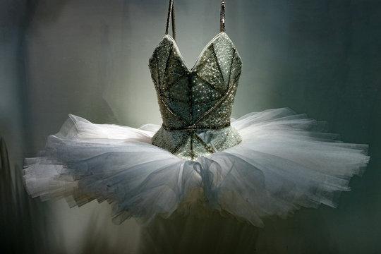 Ballet Dress skirt isolated on white
